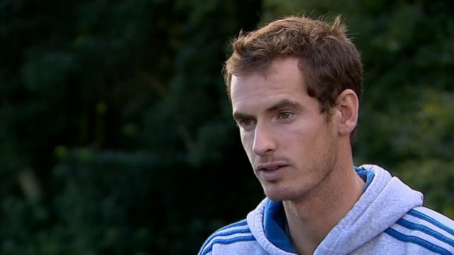 British tennis number one Andy Murray