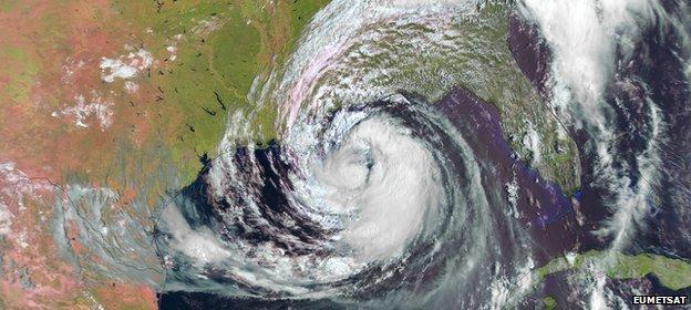 Hurricane Issac