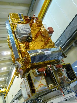 Metop-B in the cleanroom