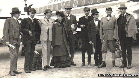 Sherlock Holmes Society in 1968