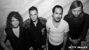 The Killers in 2009