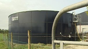 Slurry tank
