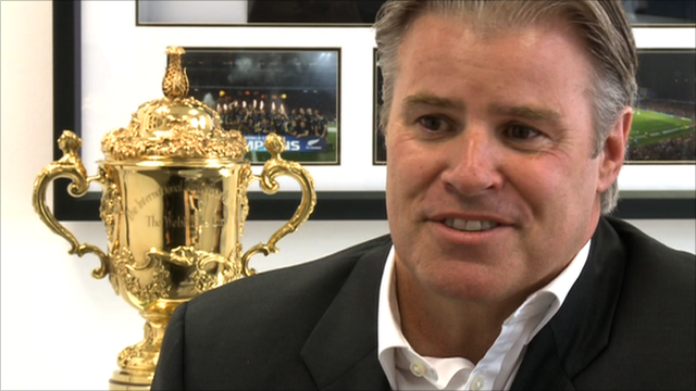 International Rugby Board chief executive Brett Gosper
