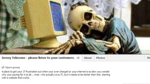 Jersey Telecoms please listen to your customers Facebook page