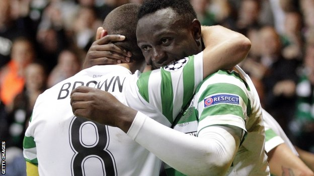 Celtic midfielder Victor Wanyama