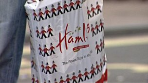 Hamleys bag