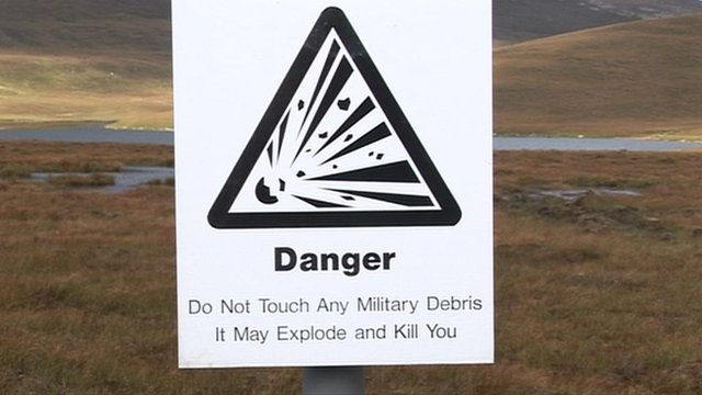 Sign in Cape Wrath