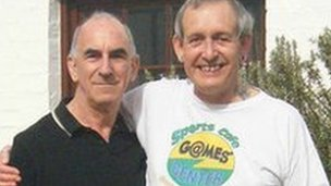 Michael Black (l) and John Morgan