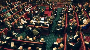 Chamber of the House of Lords