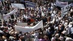 Protest in Ramallah, West Bank (17 Sept 2012)