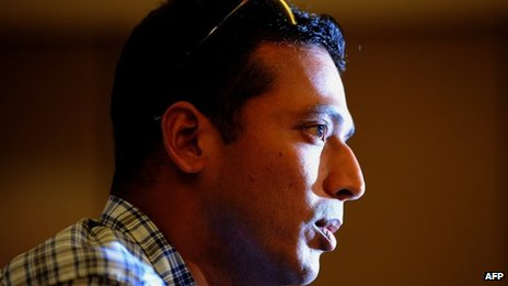 Mahesh Bhupathi at the press conference in Mumbai on 18 September 2012