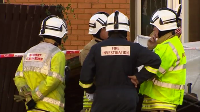 "Gwent Police said two neighbours ""valiantly and bravely"" tried to save the victims before fire crews arrived"