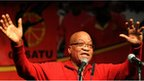 Jacob Zuma on 17 September 2012