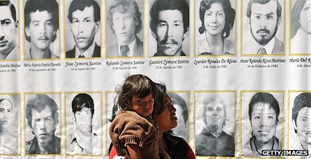 Pictures of disappeared in Guatemala