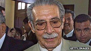 Guatemala's former president Montt