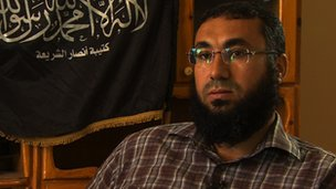 Sheikh Mohammed Zahawi, head of Ansar al-Sharia