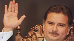 Ex-president Portillo