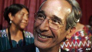 Guatemala's ex-president Colom