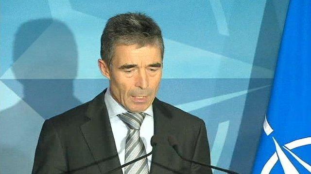 Nato's secretary general, Anders Fogh Rasmussen