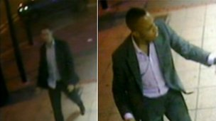 Birmingham pub glass attack CCTV images