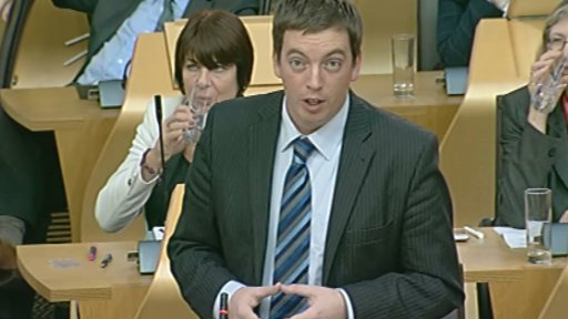 Labour MSP Drew Smith
