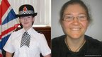 PC Nicola Hughes, aged 23 and PC Fiona Bone, aged 32,