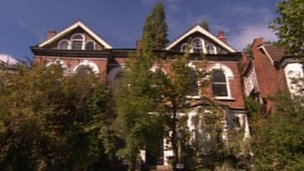 The house in Highgate where Pink Floyd lived