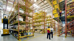 DHL Supply Chain Warehouse