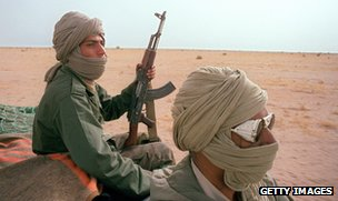 Polisario fighters, 1988