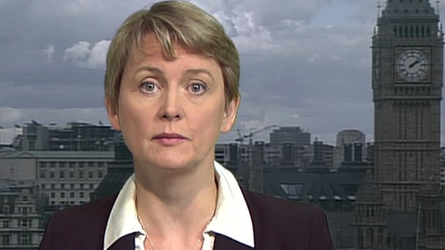 Yvette Cooper MP