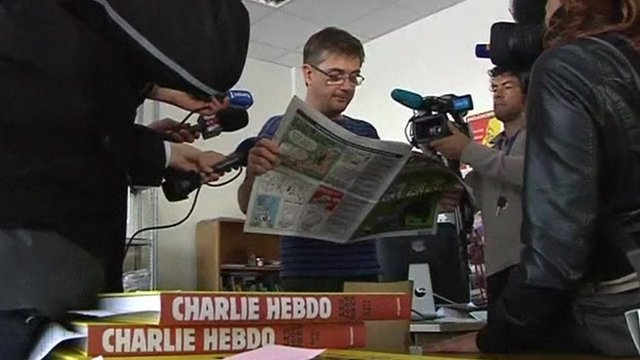 Gerard Biard, Editor-In-Chief of French magazine Charlie Hebdo