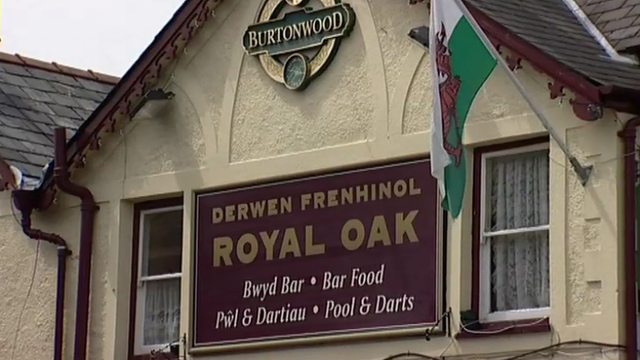The Royal Oak in Penrhyndeudraeth, Gwynedd