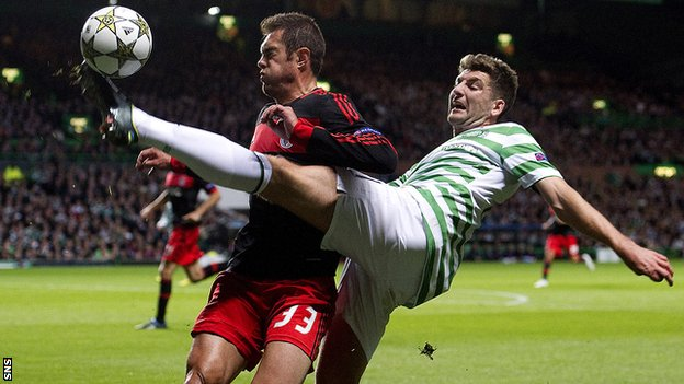 Jardel and Charlie Mulgrew