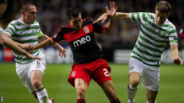 Scott Brown, Nicolas Gaitan and Adam Matthews