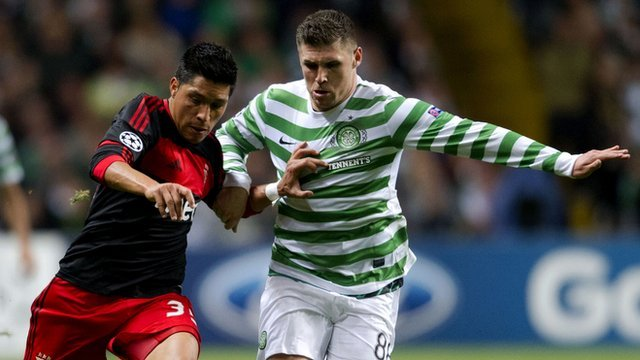Gary Hooper (right)