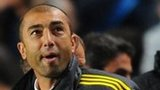 Roberto Di Matteo watches his chelsea side against Juventus
