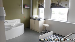 Royal Berkshire birthing unit