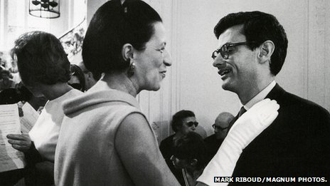 Diana Vreeland and Richard Avedon