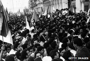 Algerian independence celebrations, 1962