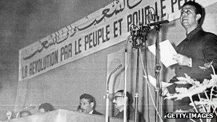 Ahmed Ben Bella, Algiers, 1964