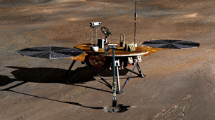 Phoenix Mars Lander Arrives On Mars 