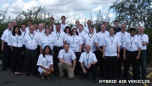 Hybrid Air Vehicles team