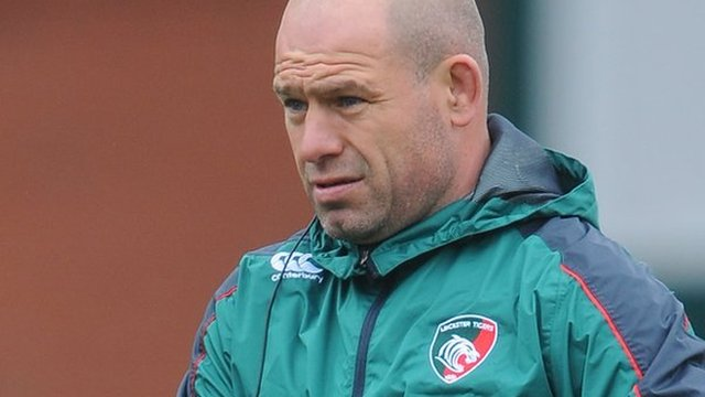Leicester director of rugby Richard Cockerill