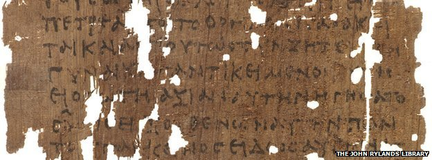 Greek papyrus 463 - The Gospel of Mary