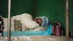 Mashiwe Turey at the Port Loko district hospital