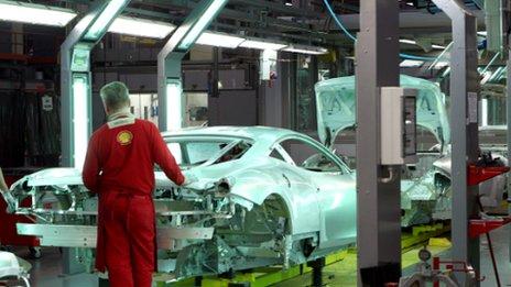 Ferrari factory image