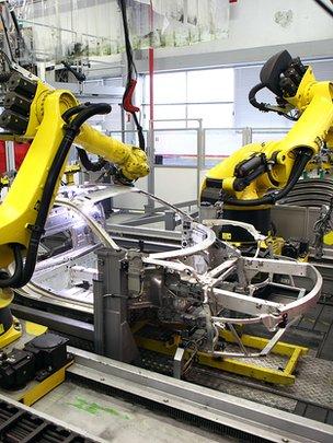 Ferrari factory robot