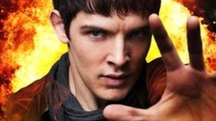 Colin Morgan as Merlin