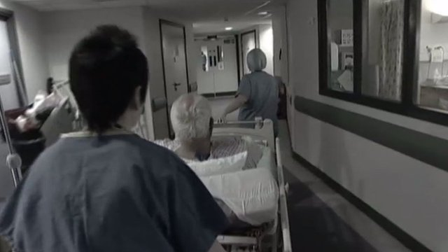 Hospital scene