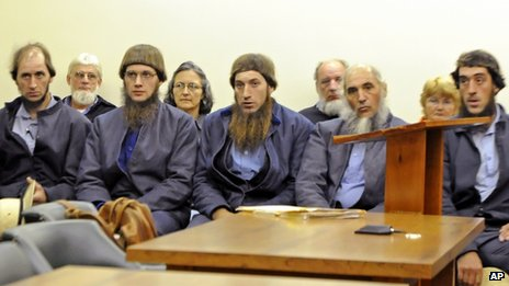 The Amish defendants file picture October 2011